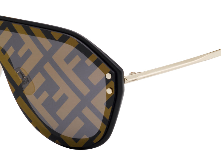 Fendi Men 0039 Shield Sunglasses