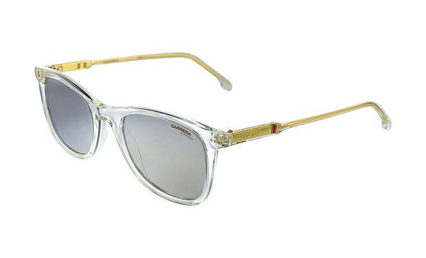 Carrera CA Car a197 Crystal Plastic Rectangle Sunglasses Silver Mirror Lens