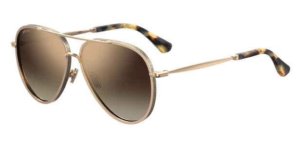 Jimmy Choo TRINY/S Aviator Sunglasses - Men and Women