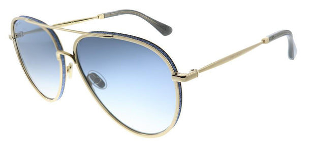 Jimmy Choo JC Triny LKS 08 Aviator Sunglasses