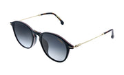 Carrera CA Car a196 Black Plastic Round Sunglasses Brown Gradient Lens