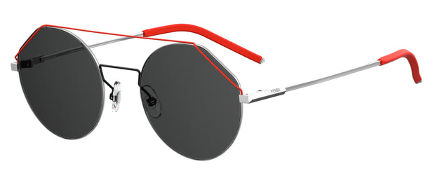Fendi Men 0042 Round Sunglasses