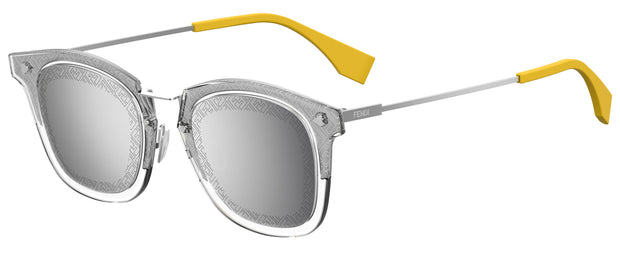 Fendi Men 0045 Rectangle Sunglasses
