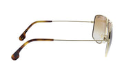 Carrera CA Car a100 Black Metal Rectangle Sunglasses Brown Gradient Lens