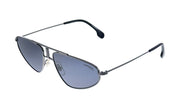 Carrera CA Carr a102 Black Metal Pilot Sunglasses Grey Lens