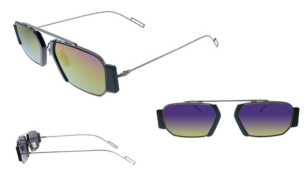 Dior Homme CD CHROMA2 V81 Rectangle Sunglasses