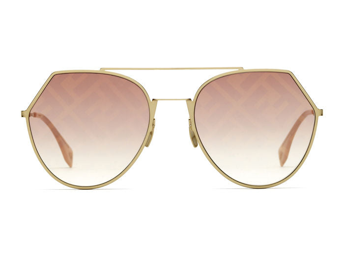 Fendi FF 0194/S Aviator Sunglasses