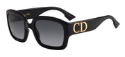 CHRISTIAN Dior DDior Rectangle Sunglasses