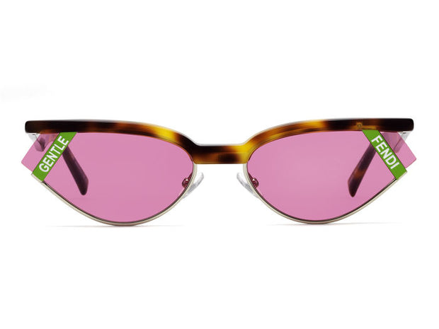 Fendi FF 0369/S Women's Oval Sunglasses