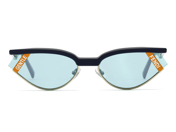 Fendi FF 0369/S Oval Sunglasses - Women's