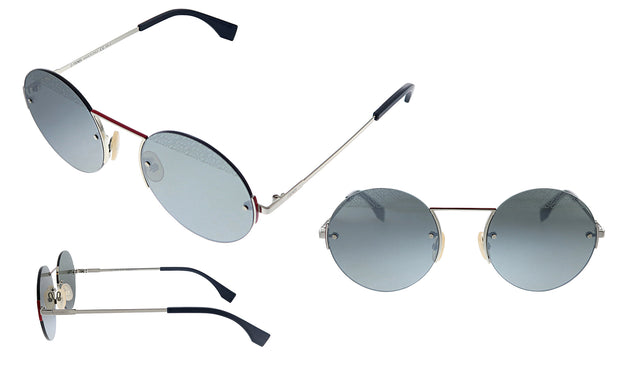 Fendi FF M0058/S 101 T4 Oval Sunglasses