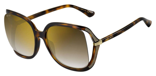 Jimmy Choo Tilda/G/S JL 0086 Rectangular Sunglasses