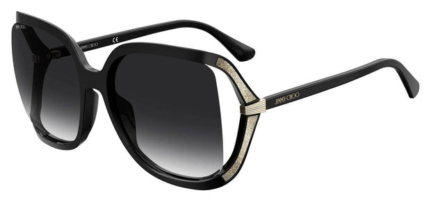 Jimmy Choo Tilda/G/S 9O 0807 Rectangular Sunglasses