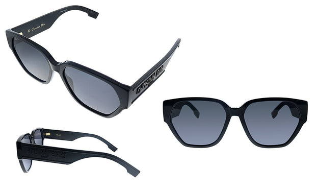 CD DiorID1 807 2K Square Sunglasses