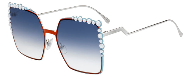 Fendi 0259 Rectangle Sunglasses