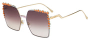 Fendi Can Eye FF 0259 35J Square Sunglasses