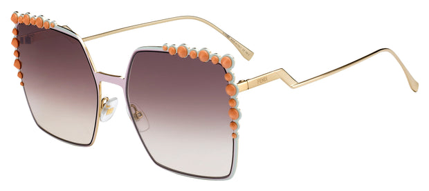 Fendi Can Eye 0259 Square Sunglasses