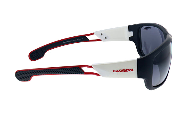 Carrera CA Car a400 Black Plastic Wrap Sunglasses Grey Lens