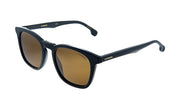 Carrera CA Car a143 Black Plastic Square Sunglasses Brown Lens