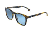 Carrera CA Car a143 Tortoise Plastic Square Sunglasses Green Lens