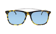 Carrera CA Car a150 Tortoise Plastic Rectangle Sunglasses Green Lens