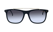 Carrera CA Car a150 Black Plastic Rectangle Sunglasses Grey Lens