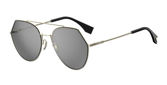 Fendi Eyeline 0194 Aviator Sunglasses