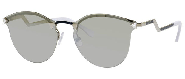 Fendi 0040 Cat-Eye Mirrored Sunglasses
