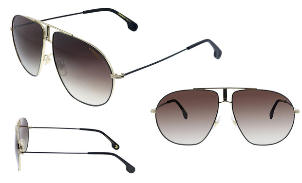 Carrera Men's Bound Polarized Aviator Sunglasses
