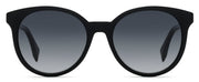 Fendi FF 0231 Black Round Sunglasses
