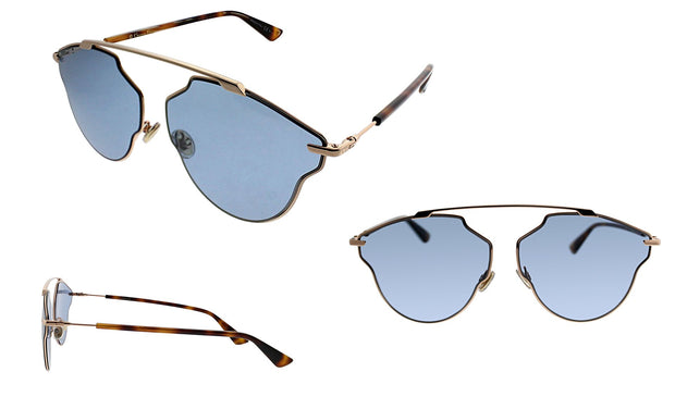 Christian Dior CD SoRealPop DDB Aviator Sunglasses