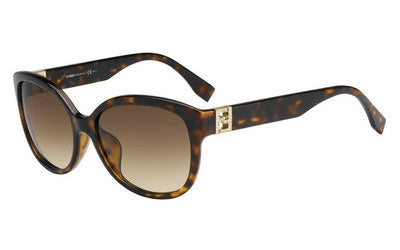 Fendi The Fendista Wayfarer Sunglasses