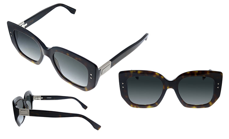 Fendi FF 0267/S 086 Geometric Sunglasses