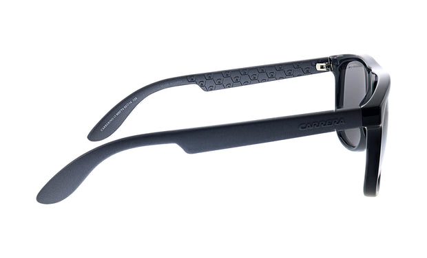 Carrera CA CAR INO1 Black Plastic Square Sunglasses Silver Lens