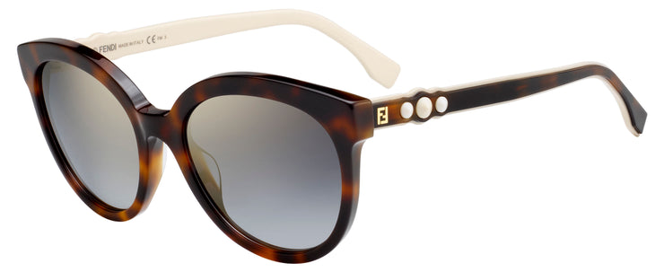 Fendi FUN FAIR 0268 Round Cat-Eye Sunglasses