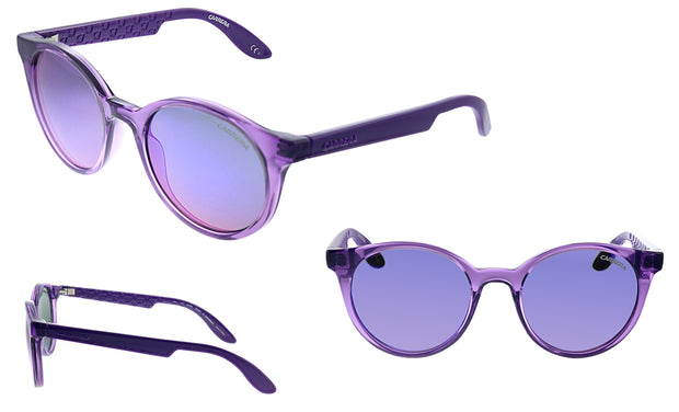 Carrera CA CAR INO1 Purple Plastic Round Sunglasses Purple Mirror Lens