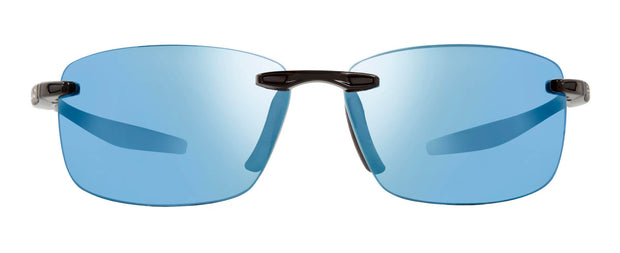 Revo RE 4059 01 BL  DESCEND N  S  Rectangle Sunglasses