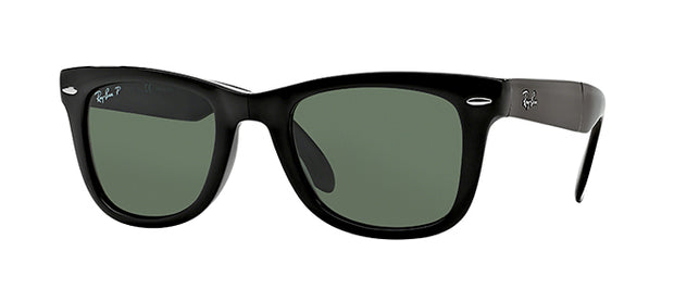 Ray-Ban 4105 Foldable Polarized Wayfarer Sunglasses