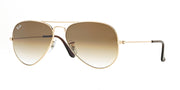 Ray-Ban 3025 55 Gradient Aviator Sunglasses