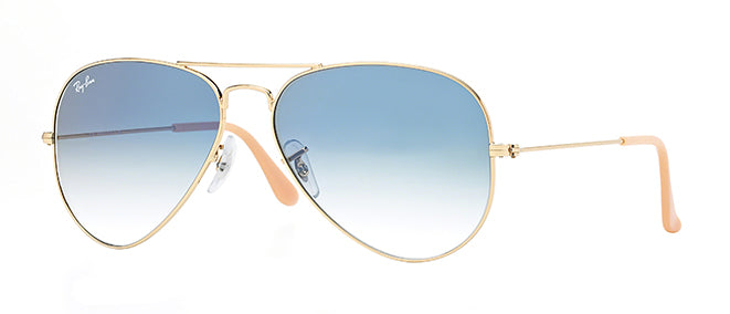 Ray-Ban 3025 55 Aviator Sunglasses