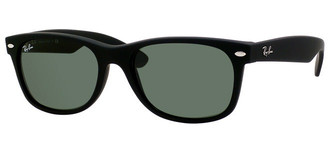 Ray-Ban 2132 Rubber Wayfarer Sunglasses