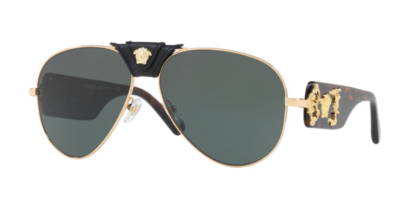 Versace VE2150Q Aviator Sunglasses