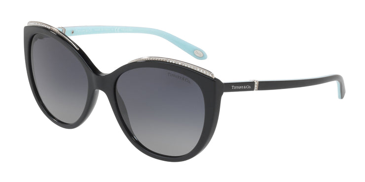 Tiffany & Co. 0TF4134B Women's Cateye Sunglasses