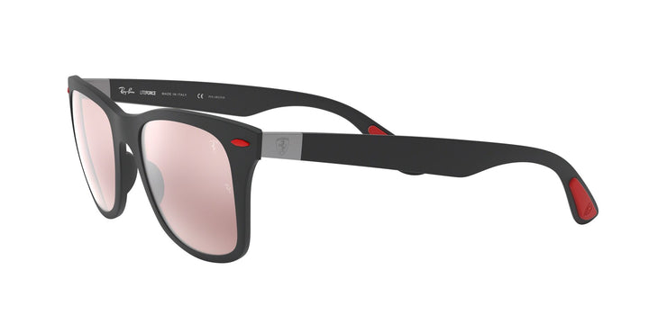 Ray-Ban Ferrari 0RB4195M Polarized Square Sunglasses
