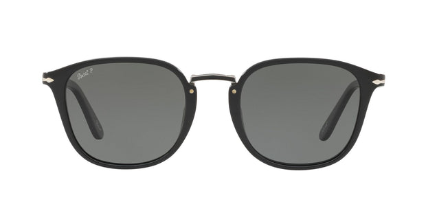 Persol 3186S Polarized Oval Sunglasses