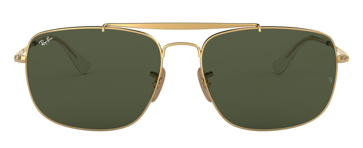 Ray-Ban 3560 The Colonel Rectangle Sunglasses