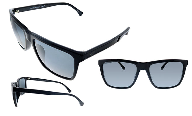 Emporio Armani EA 4117F 50176G Rectangle Sunglasses