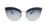 Miu Miu 58TS Cat-Eye Sunglasses