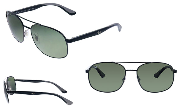 Ray-Ban RB 3593 002/9A Rectangle Sunglasses