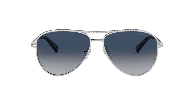 Tiffany & Co. 0TF3062 Women's Aviator Sunglasses